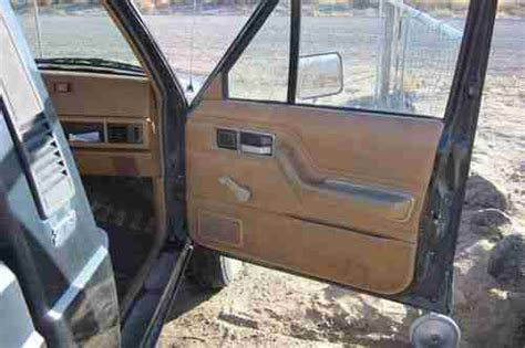 1986 jeep comanche interior buy used 1986 jeep comanche xls standard cab pickup 2 door