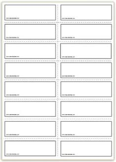 editable flashcard template templates kids learning