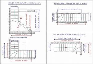 Escalier Quart Tournant Bas : calcul d 39 un escalier quart tournant ~ Dailycaller-alerts.com Idées de Décoration