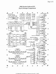 88 Lebaron - Wiring - Sensors