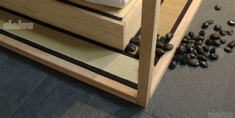 testata futon letto yasumi di cinius la vera pedana in tatami giapponese