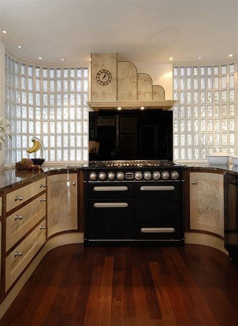 A Stunning Kitchen With Art Deco Flair Art Deco Kitchens