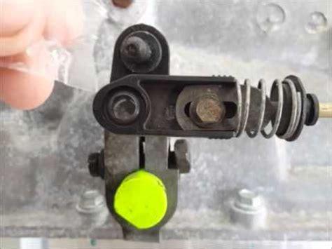 mazda  shift cable  easiest   repair chkit