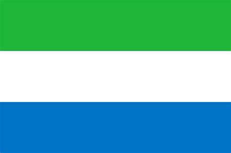 flag  sierra leone vexillology