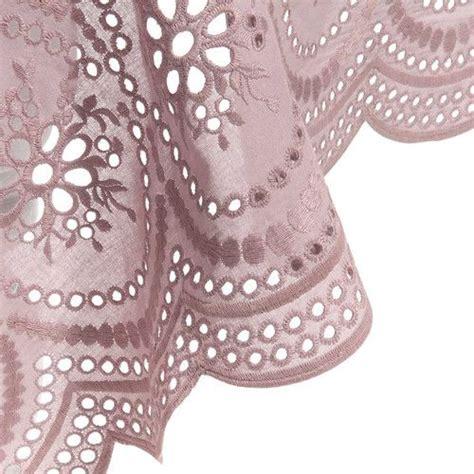 nappe en coton peyrolles maisons du monde linges de maison roses