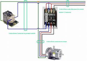 Three Phase Contactor Wiring Diagram Electrical Info Pics In 2019