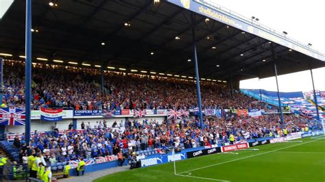 Sheffield Wednesday And Glasgow Rangers. Epic Rendition Of