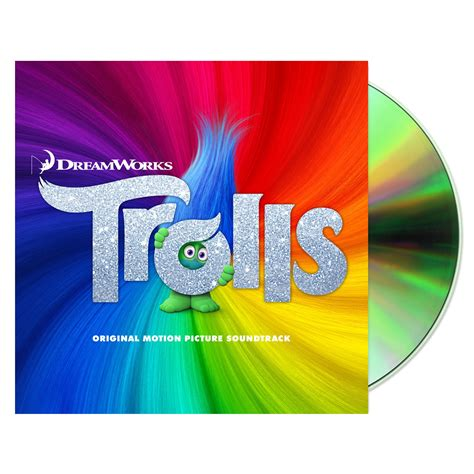 Trolls (original Motion Picture Soundtrack)  Cd Shop