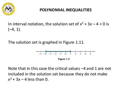 Solution Inequalities Set Calculator
