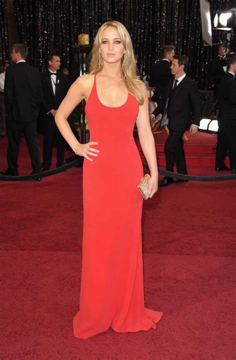 Oscars 2016 Jennifer Lawrences Dior Academy Awards Gown