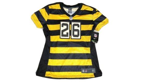 leveon bell womens pittsburgh steelers nfl nike bumble bee jersey nwt ebay