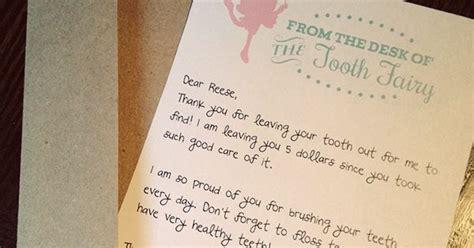 tooth fairy letter    monkeys studio