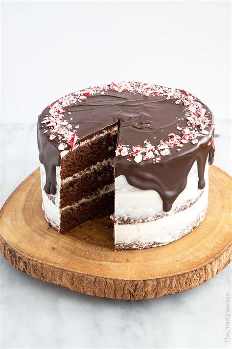 chocolate peppermint cake   epicurean