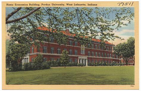 Home economics building, Purdue University, West Lafayette ...