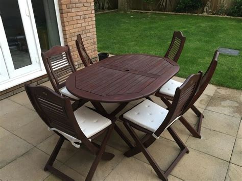 firman solid teak garden table chairs
