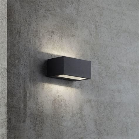 outdoor lighting wall ls buy nene outdoor led up down wall light by nordlux the