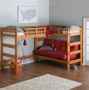 Bunk beds with desk sentogosho for Loft bed with sofa and desk