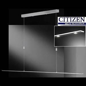 Pendelleuchte Für Langen Tisch : dimmbare h ngelampe mit 8 citizen led f r licht ber ~ Michelbontemps.com Haus und Dekorationen
