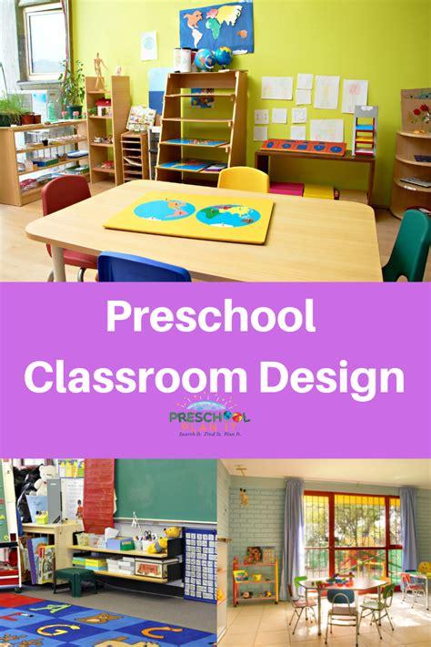 classroom design  preschool