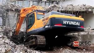 аренда техники для демонтажа зданий и сооружений