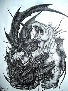 Behemoth and Leviathan by PutridusCor on DeviantArt
