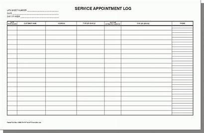 Log Service Template Excel Templates Sample Boat