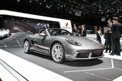 2016 Porsche 718 Boxster Revealed Autocar