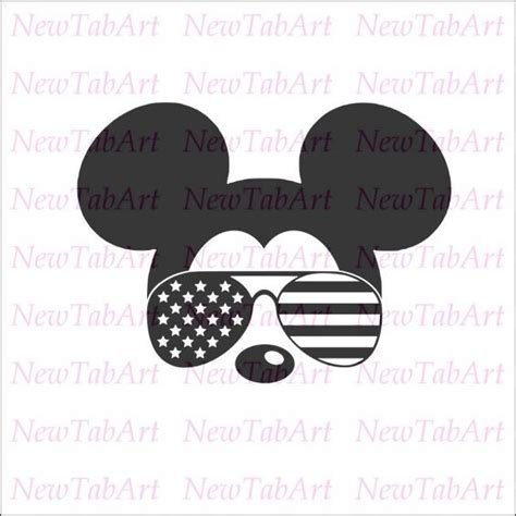 Svg vector image perfect for shirts, mugs, prints, diy, decals, clipart, sticker & more. Mickey Mouse Sunglasses Svg Free | David Simchi-Levi