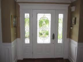 Front Door with Side Window Panels