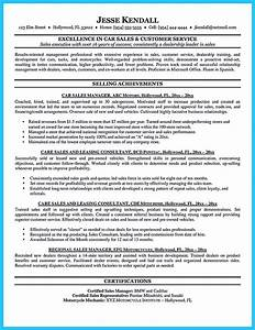 Captivating car salesman resume ideas for flawless resume for Car salesman resume