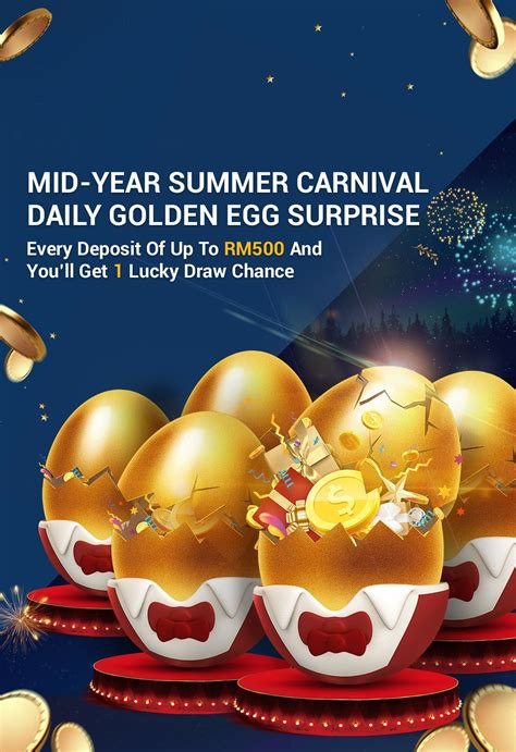 mid year summer carnival daily golden egg surprise