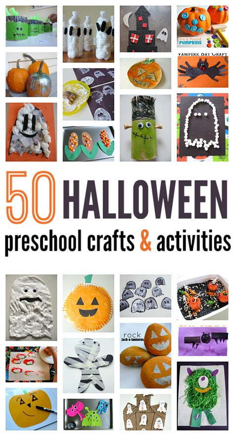50 craft ideas for preschool no time for flash 469 | halloween crafts and activities for preschool