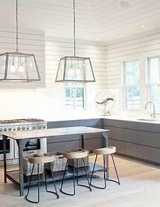 Cuisine Deco Industrielle : d co la cuisine dit oui au parquet blanc ~ Carolinahurricanesstore.com Idées de Décoration