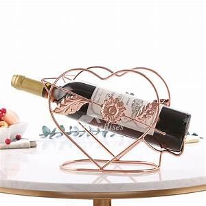 Single, Wine, Bottle, Holder, Decorative, Unique, Metal, Carved, Unique, Best