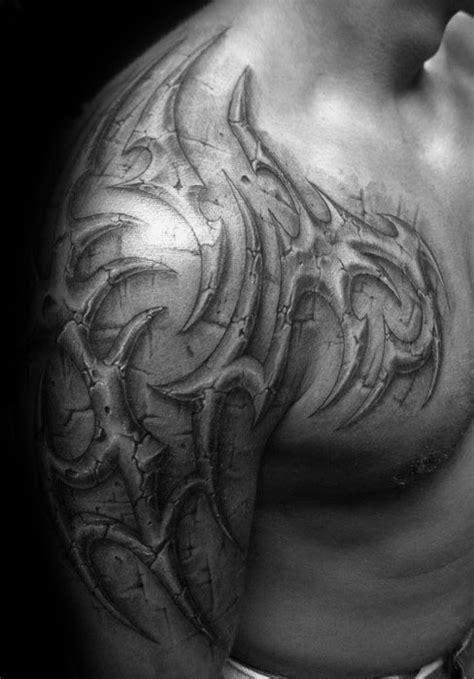 70 Sick Tribal Tattoos For Men - Cool Masculine Design Ideas