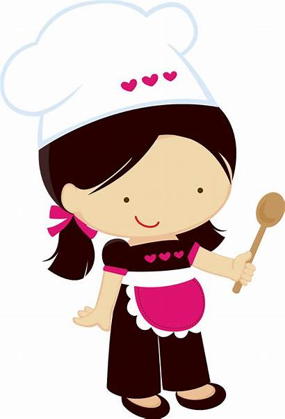 Clipart Chefs Chef Before Cooking Kitchen Happy