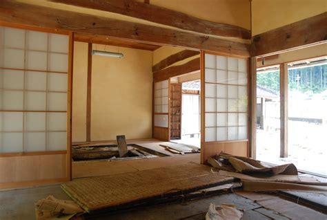 cuisine traditionnelle japonaise maison japonaise à la cagne au japon