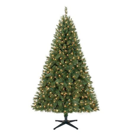 walmart 65 artifical xmas trees time pre lit 6 5 windham pine artificial