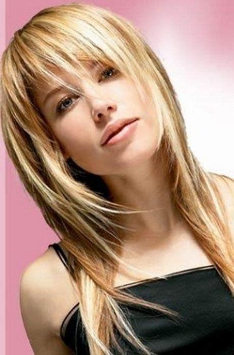 pony frisuren langes gesicht cut long hair styles