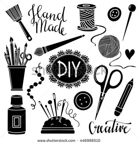 Craft Supplies Stock Photos, Royaltyfree Images & Vectors