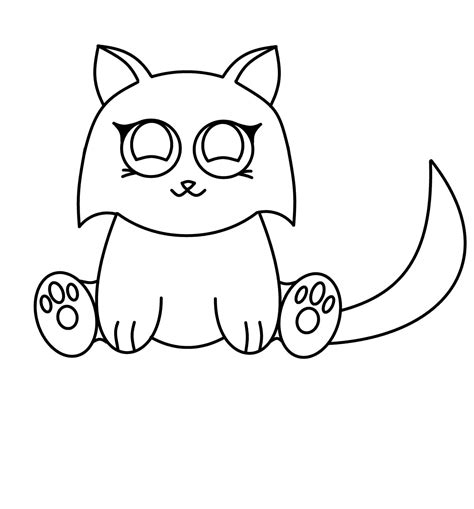 draw cartoons anime cat