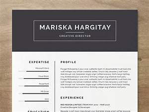 20 beautiful free resume templates for designers for Free resume layout