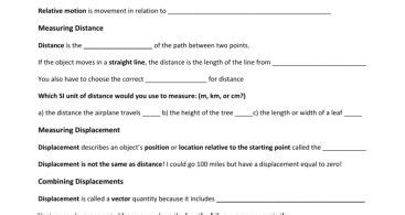 speed and velocity practice problems worksheet answers briefencounters