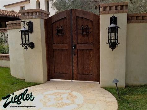 Wood Garage Doors In Santa Ana, Ca  Ziegler Doors, Inc