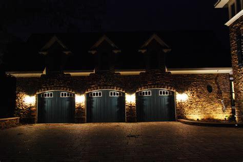 outdoor garage lighting ideas led landscape lighting garage door lighting fixtures
