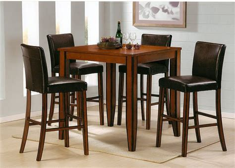 pub table set pub table and chairs dining pub tables