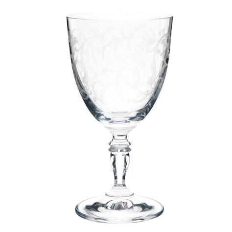 verre 224 vin en verre versailles maisons du monde