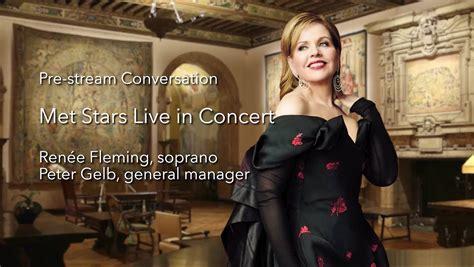 In just one week, Renée Fleming... - The Metropolitan ...