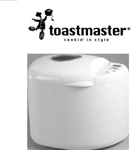 Toastmaster Bread Maker tbr2 User Guide   ManualsOnline.com