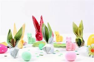 Pliage Serviette Lapin Simple : tuto pliage de serviette lapin mesa bella blog ~ Melissatoandfro.com Idées de Décoration